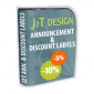 J2T Announcement & Discount Labels