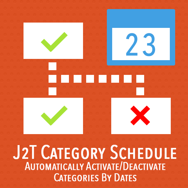 J2T Category Schedule