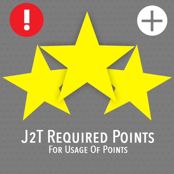 J2T Required Points