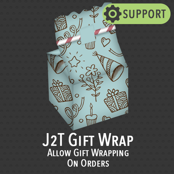 1 Month Technical support for J2T Gift Wrap