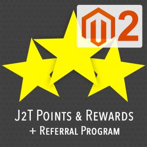 J2T Points & Rewards for Magento 2