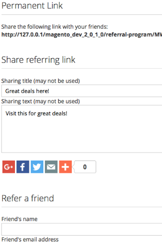 What about earning points when referring a friend?